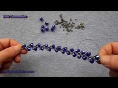 Beaded bracelet Materials: 6mm Firepolished Amethyst beads; 4mm and 3mm Firepolished Mt. Bronze beads; 15/0s and 11/0s Miyuki Matte Mt. Dk Bronze seed beads;...