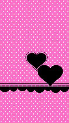 Pinka Dots Go Launcher Theme Bling Wallpaper, Flowery Wallpaper, Flower Phone Wallpaper, Heart Wallpaper, Apple Wallpaper, Cute Wallpaper Backgrounds, Pretty Wallpapers, Love Wallpaper, Cellphone Wallpaper