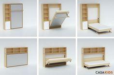Casa Kids' Tuck Bed Folds Awa...