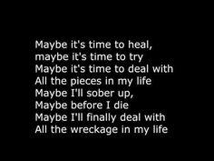 Sixx:A.M. - Maybe It's Time Lyrics - YouTube