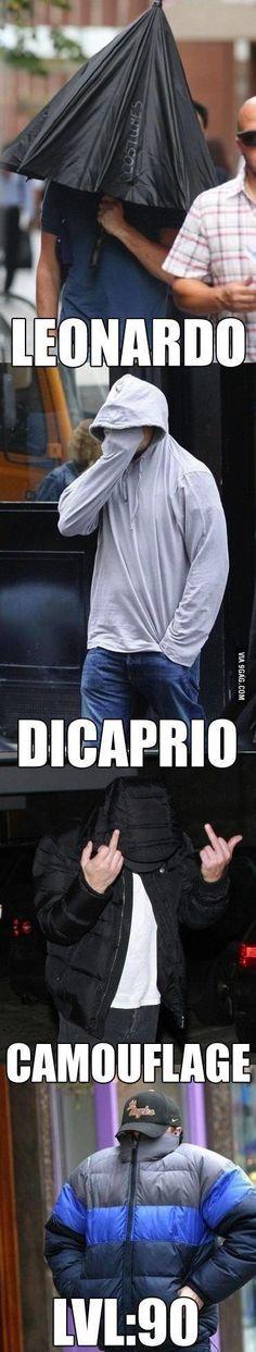 "9GAG - Leonardo DiCaprio ""loves"" the paparazzi."
