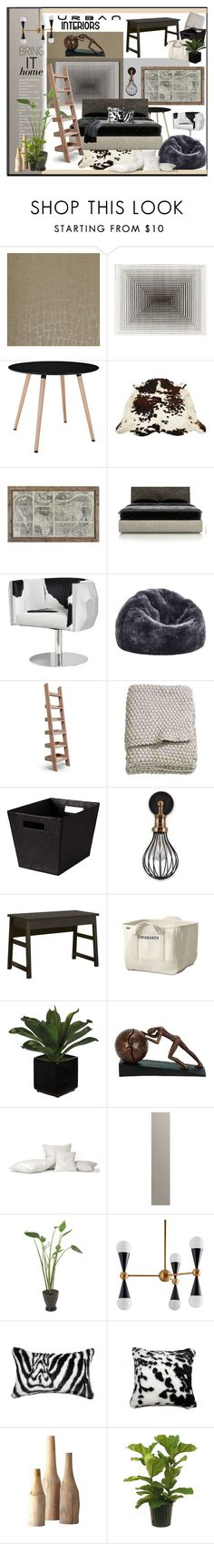 """""""Bedroom Styles"""" by idetached ❤ liked on Polyvore featuring interior, interiors, interior design, home, home decor, interior decorating, Today Interiors, Amara, Huppé and Dot & Bo"""