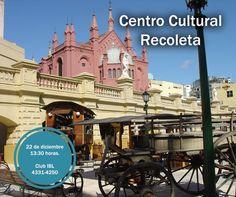 Vamos al centro cultural Recoleta, te esperamos a las 13 30 en IBL,
