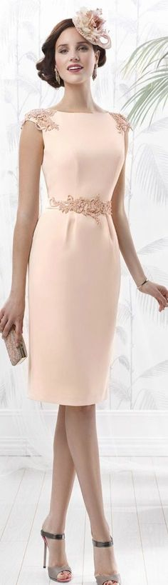 @roressclothes clothing ideas #women fashion blush dress