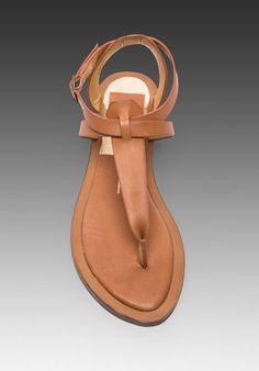 95a85c656 DOLCE VITA Fabia Sandal in Saddle -Resort Wear 2014 Cute Sandals