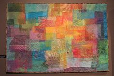 """quilt --art quilts  Searching,"""" by Sherrie Spangler."""