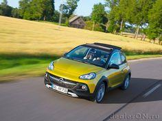 Кроссовер Опель Адам Рокс 2015 / Opel Adam Rocks 2015
