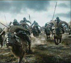Mounted Iron Hills Dwarves