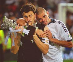 Iker Casillas & Pepe