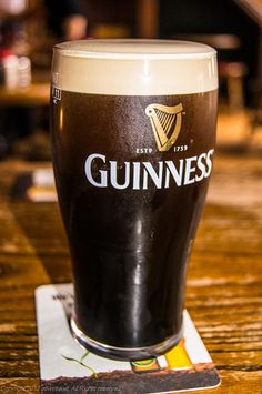 Enjoy a glass or two of Guinness Irish Stout ... in Dublin's Temple Bar.