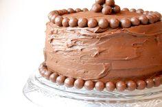 Bakergirl: Chocolate Malt Cake.