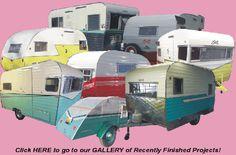 Retro Restoration - Gallery of restored campers