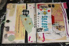 AlteredStatesStudio: collaging/ art journal- feeling creative