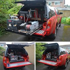 Make the best use of your space and make accessing your tools alot easier.  This customer who we think is a Farrier (Correct us if we are wrong) has used our slide out cargo tray to help store his equipment making it easier to access. What would you use yours for? #CargoTray #Storage #Mitsubishi #L200 #Isuzu #DMax #Ford #Ranger #GreatWall #Steed #Nissan #Navara