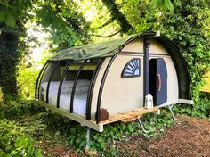 Backyard Fort, Backyard For Kids, Outdoor Spaces, Outdoor Living, Cool Tree Houses, Cool Tents, A Frame House, Tiny House Living, Tiny Cottages