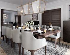 Proposal design interior dining room in London Room London, Home Renovation, Proposal, Furniture Design, Behance, Room Decor, Interior Design, Dining Rooms, Gallery