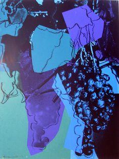 Andy #Warhol - Grapes (Special Edition) (195), 1979 screenprint 40 x 30