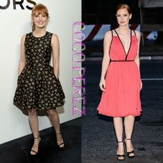 Jessica Chastain Flawlessly Goes From Day To Night During New York Fashion Week! THIS Is Class!