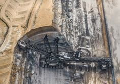 The Tagebau Hambach is the largest open-pit coal mine in Germany, occupying an area of 34Km3. Appeared in the Summer 2015 issue of Focus  www.sciencefocus.com