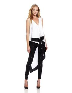 BCBGMAXAZRIA Women's Cyprien Woven Sportswear Top, White Combo, Small BCBGMAXAZRIA,http://www.amazon.com/dp/B00AQC698Y/ref=cm_sw_r_pi_dp_TlXLrb6CD17F4986