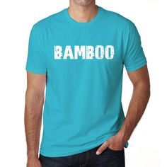 BAMBOO Men's Short Sleeve Rounded Neck T-shirt