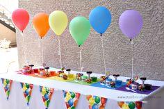 Balloon Party Ideas | A to Zebra Celebrations