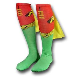 Robin Socks w/Capes