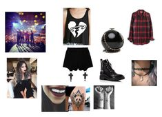 """""""5SOS concert <3"""" by niisabel ❤ liked on Polyvore featuring Chicnova Fashion, Kendall + Kylie, Madewell, 5sos and 5secondsofsummer"""