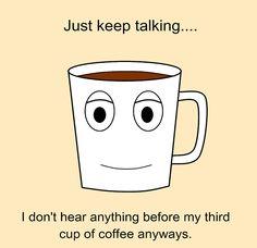 Careful Coffee Jokes Other Work - Just keep talking Coffee Latte, Espresso Coffee, Coffee Shop, Coffee Cups, Coffee Talk, Coffee Is Life, I Love Coffee, Coffee Break, Coffee Girl