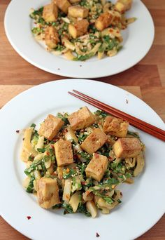 A crispy tofu and bok choy salad is a delicious #keto treat that anyone can make! Shared via http://www.ruled.me/