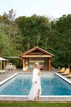 Interior Designer Jenny Dyer's Hamptons Home #home #decor #design