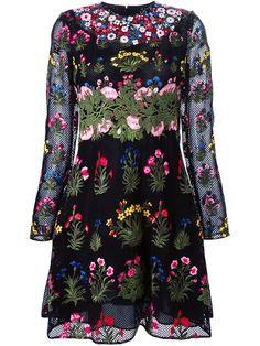 Valentino 'primavera' Embroidered Dress - Eraldo - Farfetch.com