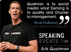 Erik Qualman is one of my favorite.  I find the content and information he shares valuable and to the point.