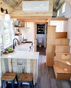 77 amazing loft stair for tiny house ideas