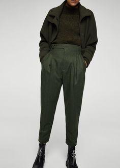 Pantalon - Dames   MANGO Nederland