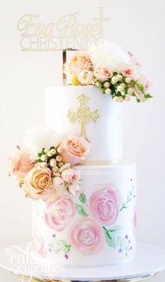 Baptism Favor /& Cake Decorations 100 First Communion Favor Sign Gold
