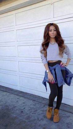 Cute outfits nd love Her Boots ! Swag, dope, Style
