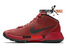 cheap for discount 44701 31078 Nike KD Trey 5 III - Chaussures de BasketBall Pas Cher Homme Rouge Noir  749377