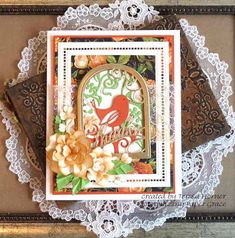 Victorian Paper Queen: Introducing Shadowbox Vignettes Blog Hop