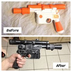 I'm going as Han Solo for Halloween; completed the blaster this weekend.