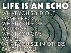 Echo ☼ Echo ☼ Echo ☼  Acknowledge yourself & others and send out Love Song & Smiles ♫♥♪¨¯`♥ ¸.♫♥♪¨¯`♥ ¸.♫♥♪¨¯`♥