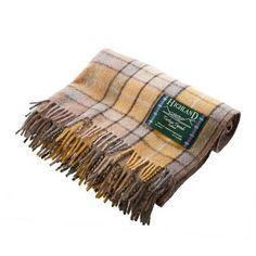 Scottish-100-Wool-Tartan-Check-Plaid-Blankets-Rug-Throws-Traditional-Patterns
