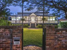 133 Bonney Ave, Clayfield, Qld View property details and sold price of 133 Bonney Ave & other properties in Clayfield, Qld Albion Hotel, Queenslander House, Large Open Plan Kitchens, New Farm, Houses Of Parliament, Australian Homes, Facade House, House Goals, Island Life