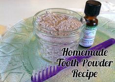 This DIY homemade tooth powder that helps remineralize teeth, kill bacteria and cleans teeth naturally and inexpensively.