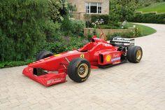 1996 Ferrari F1 Tipo F310 Serial Number 168