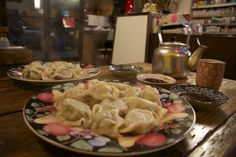 Ping's Dumpling House, recommended by chef Kurt Timmermeister.  International District.  508 S King St Seattle, WA 98104