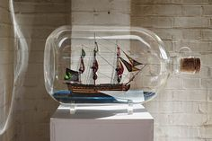 Building a ship in a bottle only looks mysterious. With patience, skill and a…