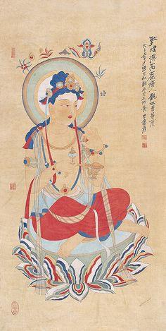 张大千 临敦煌漠高窟唐人观世音造像 by China Online Museum - Chinese Art Galleries, via Flickr