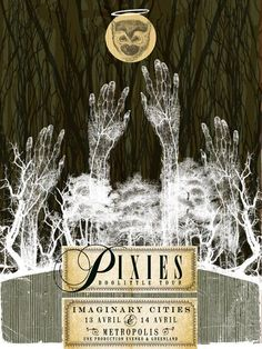 GigPosters.com - Pixies - Imaginary Cities