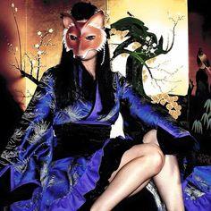 #thesiamfox #asian #foxmask #kimono #model Photo by Photoxic Images